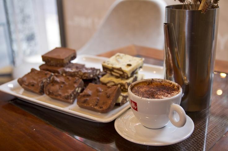 Heavenly Belgian Chocolate Cakes.