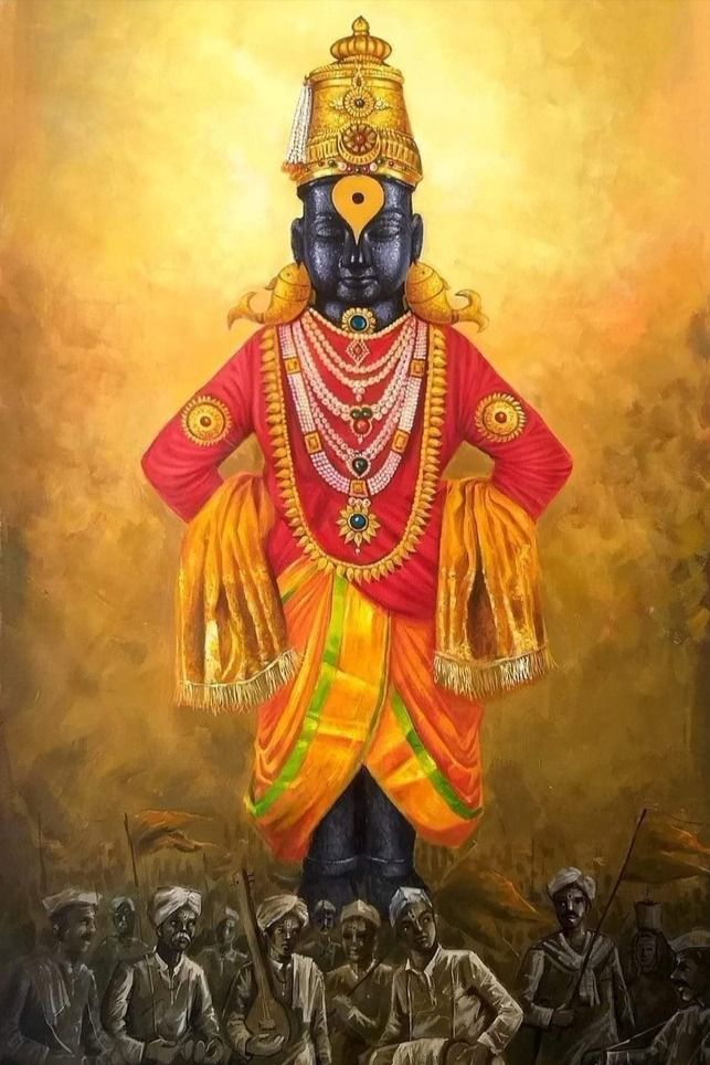 Vitthal The Maharashtrian Vishnu God Hinduism Art God Art Hindu Art God vitthal full hd wallpaper