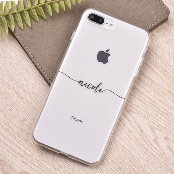 uk availability 40fe5 c612f Slim Handwritten Custom iPhone X Case in 2019 | d | Iphone phone ...