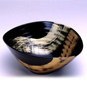 Japanese Urushi Salad Bowl