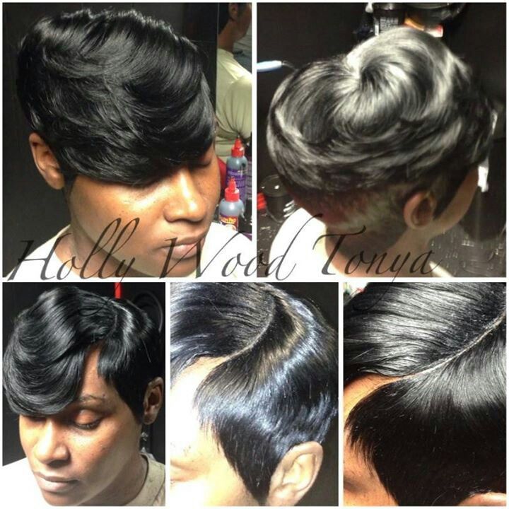 Excellent 1000 Images About 27 Piece Quick Weave On Pinterest Short Hair Short Hairstyles For Black Women Fulllsitofus