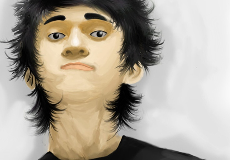 mang_amie: draw your face in Digital Painting Style for $5, on fiverr.com