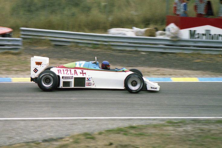 1983 GP Holandii (Zandvoort) RAM March 01 - Ford (Kenny Acheson)