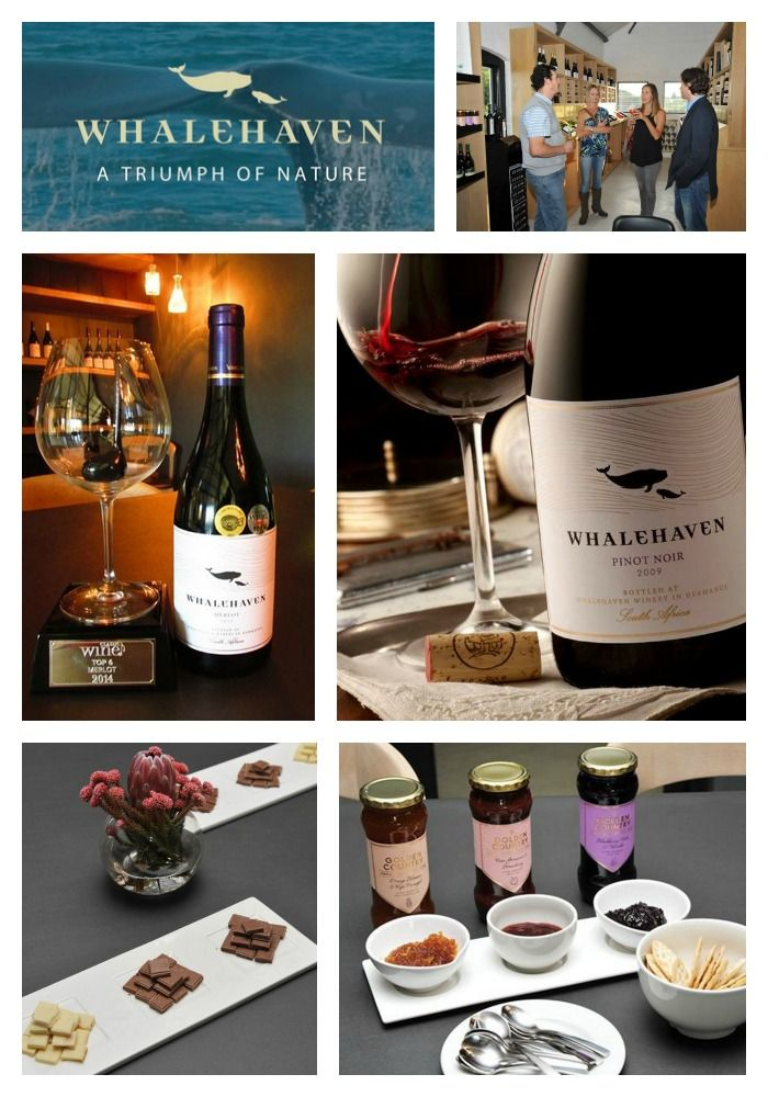 Whalehaven Winery  Address:  Hermanus, Western Cape Tel: +27 28 316 1633 Email: experience@whalehaven.co.za