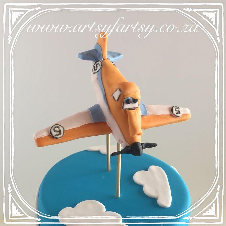 Disney's Planes Dusty Cake #disneysplanesdustycake