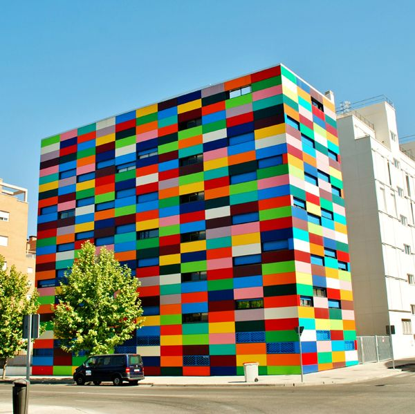 Contemporary Building Blocks: Color Blocked Architecture