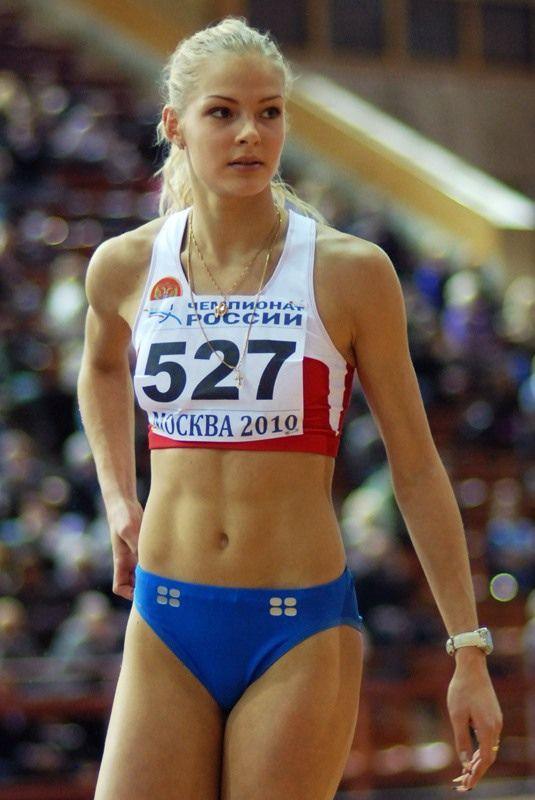 klishina track   Track Beauty of the Week: Darya Klishina (Дарья Клишина ...