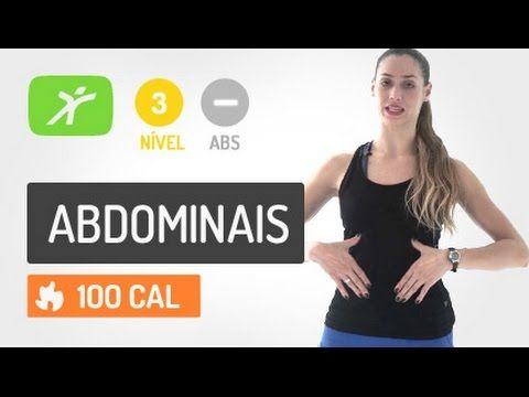 Exercicios Abdominais para fazer em Casa - YouTube