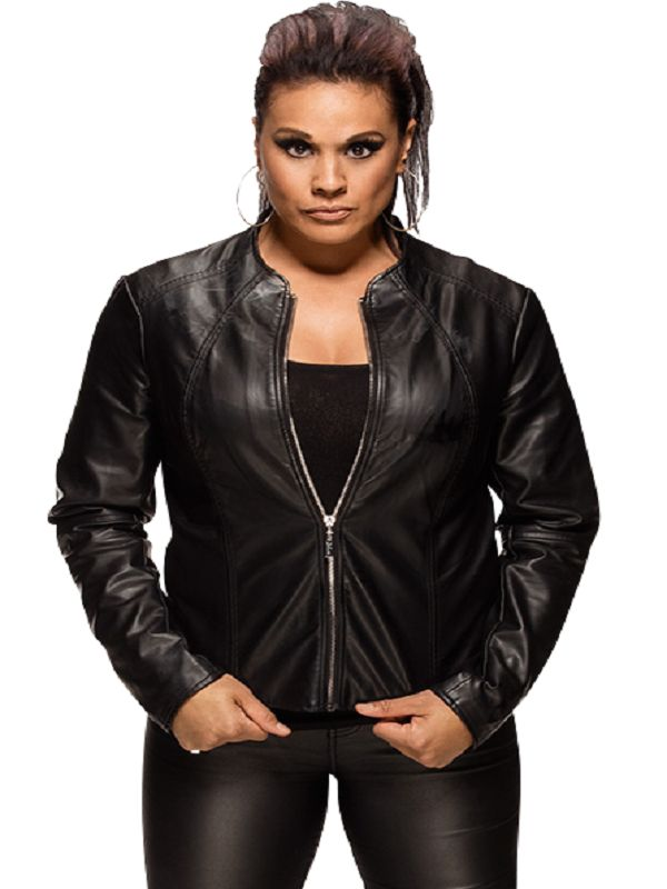 Tamina Snuka Black Jacket | Top Celebs Jackets
