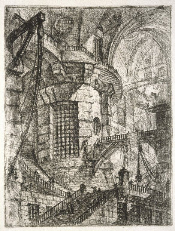 The Roman antiquities, t. 2, Plate XI. View of another part of burial chamber of L. Arrunzio - Giovanni Battista Piranesi - WikiArt.org
