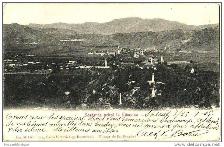 Campina - Vedere Generala - 1909