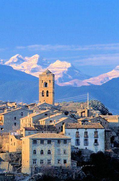 Aínsa, Huesca, Spain