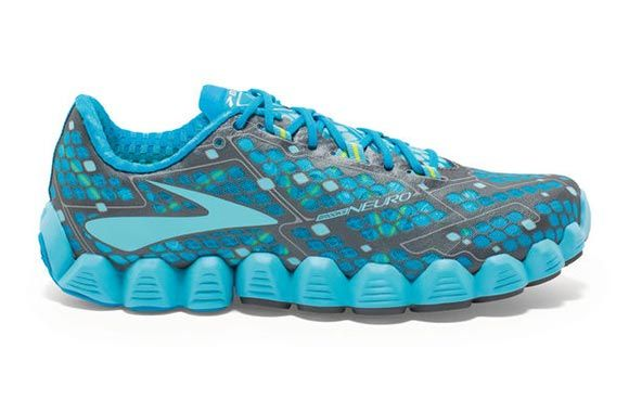 From springs to ankle cuffs, these running shoes break all the traditional shoe models...in a good way.