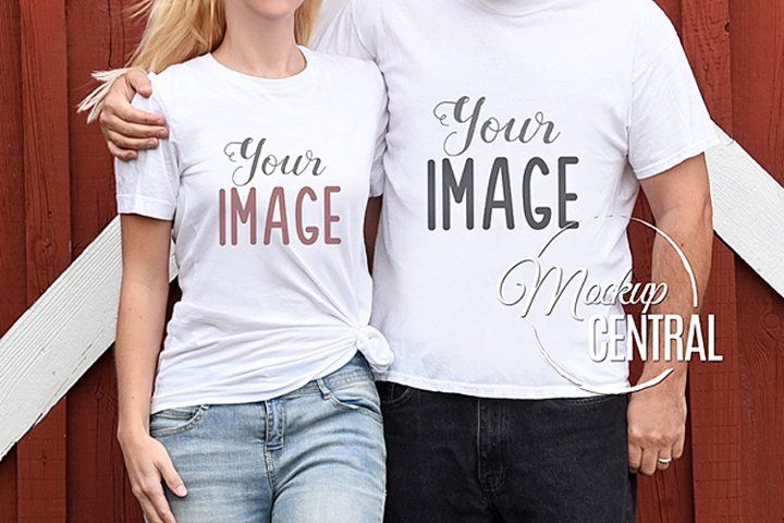 Download Couple S Matching Blank White Love T Shirt Mockup Jpg Shirt 260992 Clothing Design Bundles Shirt Mockup Clothing Mockup Love T Shirt