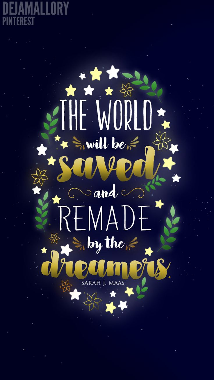 The World Will Be Saved And Remade By The Dreamers - Empire of Storms
