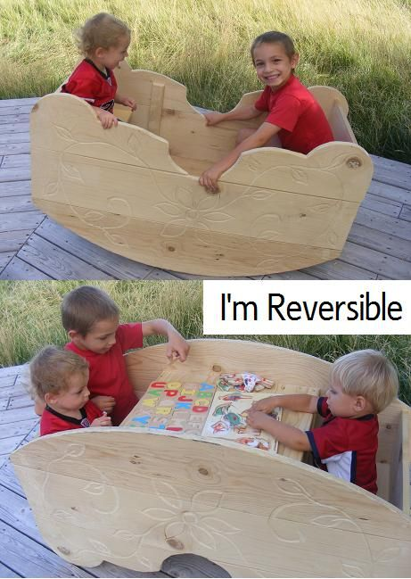 These are really cool. I would love one for my grand daughter and any future grandchildren. Along with a fancy play house! PS: If any one looks at this and decides to order, mention you got the idea from me! The give-away includes those who refer!
