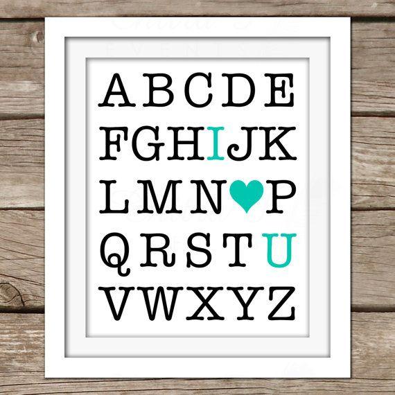 Diy Alphabet Wall Decor : Best ideas about abc wall on nursery