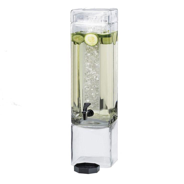 Commercial 3 Gallon Beverage Dispenser - Acrylic - Sam's Club