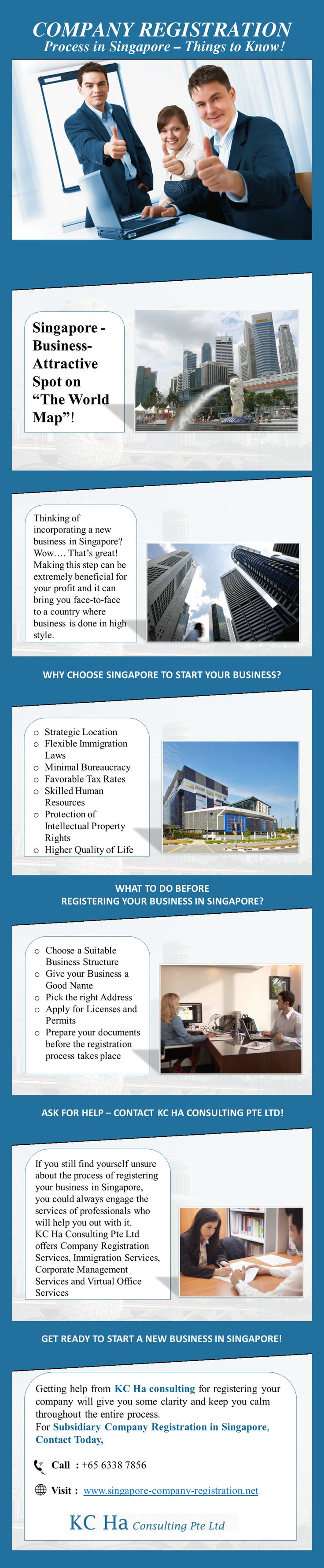 Subsidiary Company Registration - Things to Know! - If you wish to start and strengthen your business in Singapore, KC Ha Consulting Pte Ltd are here to help you with your Business/Company Registration. Visit http://www.singapore-company-registration.net