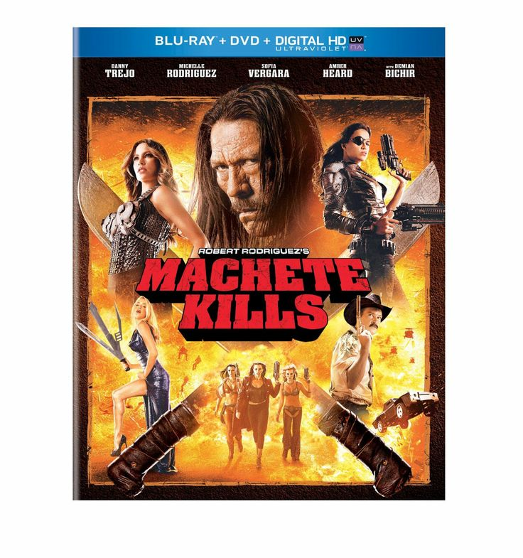 Machete Kills (2013) ($19.99) http://www.amazon.com/exec/obidos/ASIN/B00GDDNMEY/hpb2-20/ASIN/B00GDDNMEY Machete Kills seemed like just a bad movie without the popcorn. - I actually had to stop watching it cause i got so bored. then decided to finish it a few hours later hoping it would get better. - This was a great action movie!