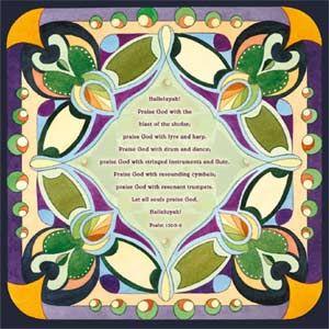 Megvilágított Zsoltárok 150:3-6