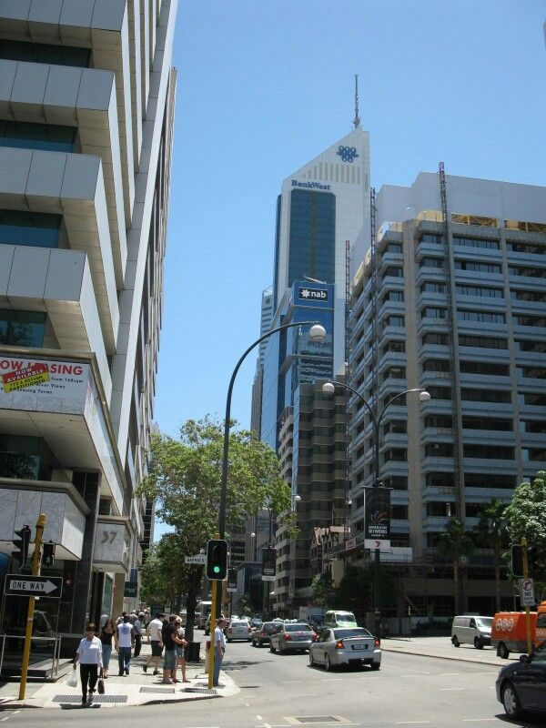 St George's Terrace, Perth