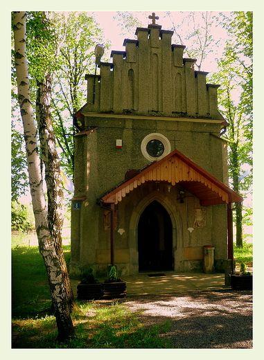 Wrocanka - kaplica św. Rozali