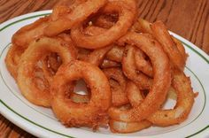 I came across a recipe for fried onion rings the other day that used pancake batter mix to coat the rings. There were several pretty much identical recipes on the same theme and most of the review...