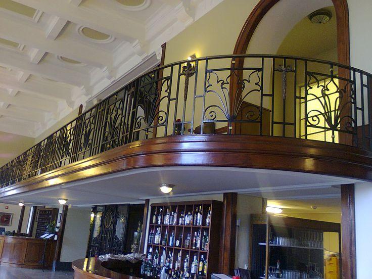 Interior do Grande Hotel da Curia, Portugal