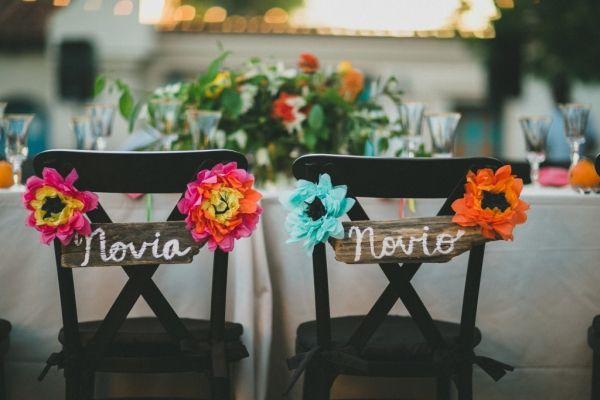 Novia and Novio Signs