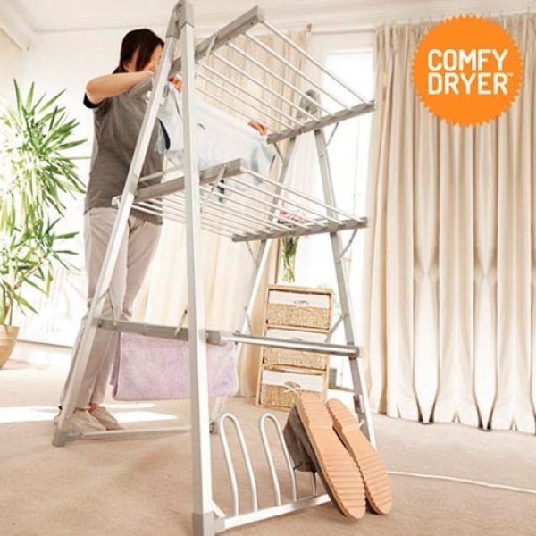 Home Electric Dryer Speed Drying Clothes Laundry Comfy Heated Indoor Airer New in Home, Furniture & DIY, Household & Laundry Supplies, Airers/ Driers/ Clothes Horses   eBay