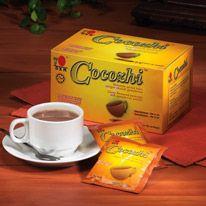 Cocozhi DXN Cocozhi is samengesteld uit de beste cacaobonen en Ganoderma extract. Het is een kant en klaar zakje met een heerlijke chocolade poeder. Naast de fijne cacao aroma geniet je ook van de voordelen van de Ganoderma. Giet de inhoud in een kopje heet water en roer goed door en geniet van een verkwikkend drankje geschikt voor het hele gezin. http://gezondekoffie.dxnnet.com/products#katnev_2