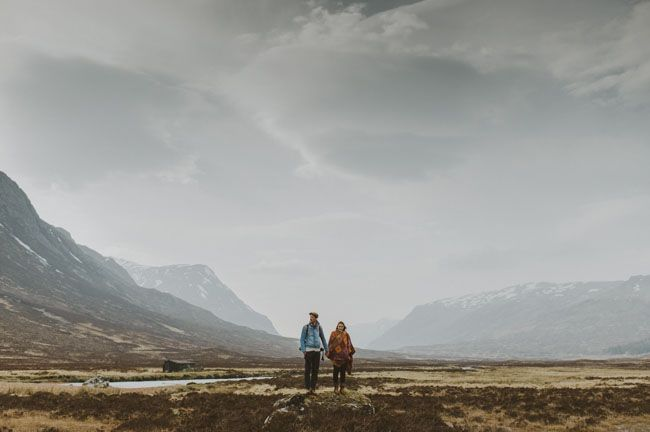 a Scottish Highlands proposal by Kitchener Photography