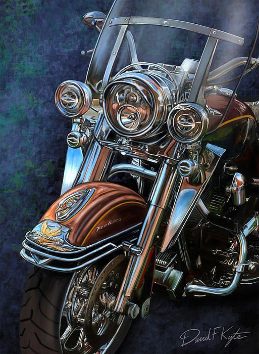Harley Davidson Ultra Classic_David Kyte #HDNaughtyList