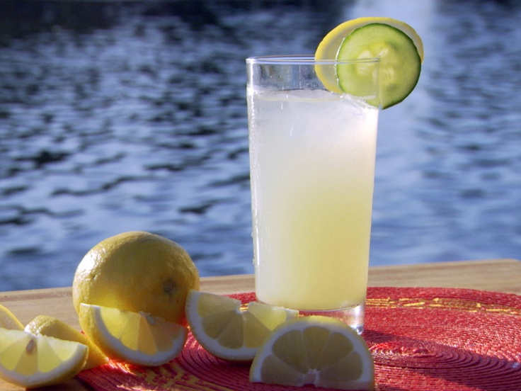 Ginger and Cucumber Juice from CookingChannelTV.com