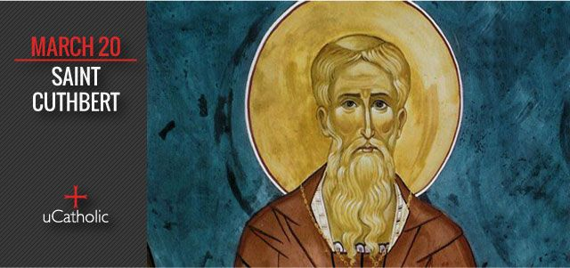 St. Cuthbert (634 -687) was an Anglo-Saxon monk, bishop and hermit associated with the monasteries of Melrose and Lindisfarne in the Kingdom of Northumbria. Hee became one of the most important medieval saints of England. St. Cuthbert is regarded as the patron saint of northern England. His ...