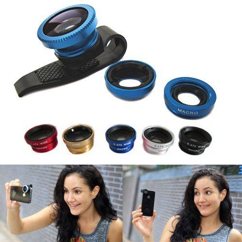 Universal 3 In 1 Clip-On Fish Eye Macro Wide Angle Mobile Phone Lens Lente Olho De Peixe Camera For Iphone 4 5 6 Samsung^. is_customized: Yes. Brand Name: OEM. Compatible Brand: Apple iPhones,Blackberry,HTC,LG,Motorola,Nokia,Palm,Panasonic,Samsung,Sony-Ericsson,Toshiba. Phone Camera Type: Wide-Angle Len. Model Number: 001.