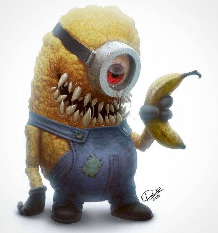 Cet artiste va ruiner votre enfance avec ses dessins de cartoons transformés en monstres - page 2