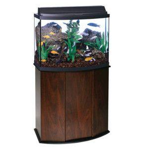 Aqueon® 36 Gallon Bow Front Aquarium Ensemble | Aquariums | PetSmart