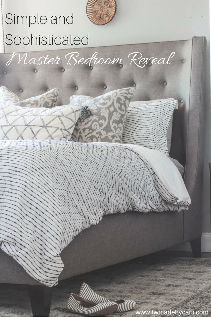25 best a simple and sophisticated master bedroom images on pinterest