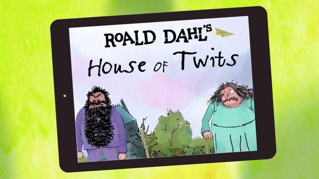 House of Twits is an app inspired by Roald Dahl's, The Twits. This app let's you explore the Twits' disgusting house and play tricks on the characters!