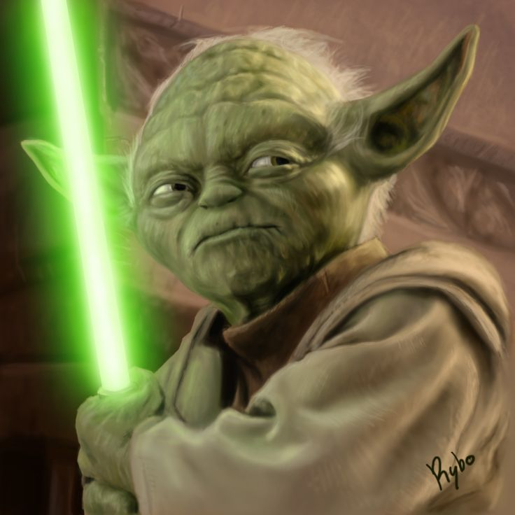 yoda pictures | Yoda's lightsaber is plastic.