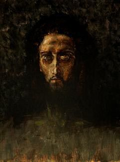 Mikhail Vrubel - THE HEAD OF CHRIST. 1888