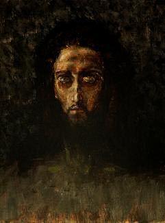 Mikhail Vrubel - THE HEAD OF CHRIST. 1888