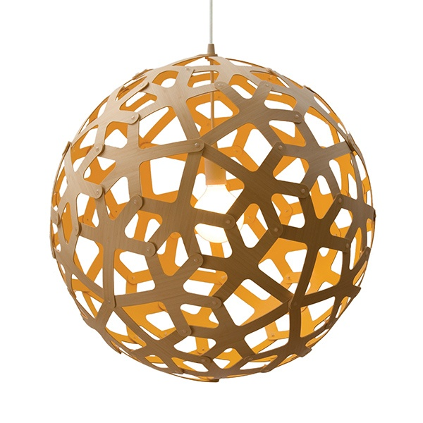 Our David Trubridge lamp