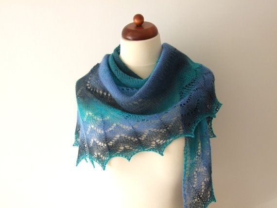 Wool triangle shawl in gorgeous colors http://etsy.me/2COnFzQ via @Etsy #onsale #freeshipping #woolscarf #woolshawl #handmade