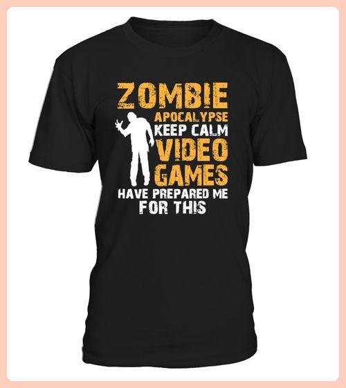 Keep Calm Zombie Apocalypse Gamer (*Partner Link)