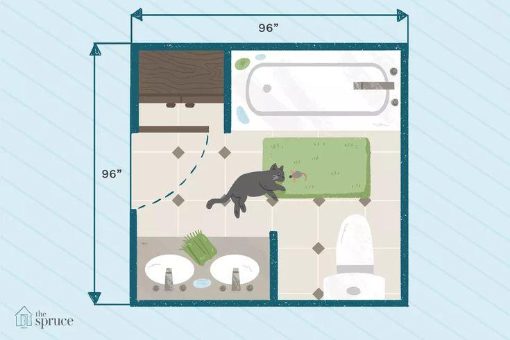 use these 15 free bathroom floor plans  small bathroom