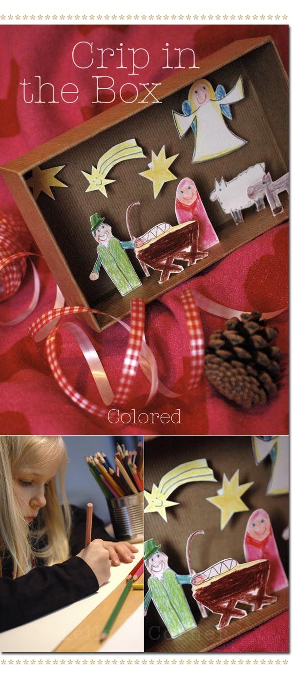 ★Les Tissus Colbert: Bastelidee für Kinder mit Türchen N° 21 – ein DIY von Kelly
