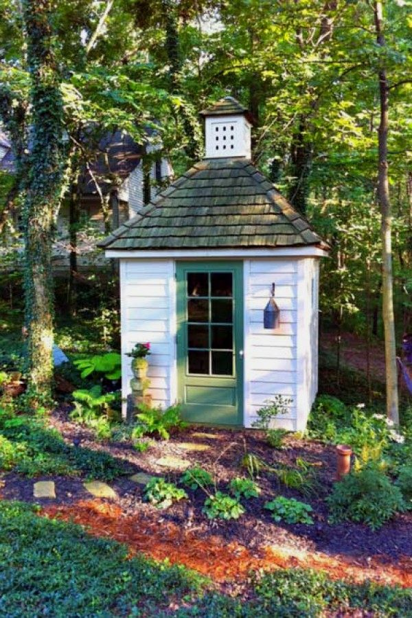 Easy Garden Shed repurposed designs for your garden project Garden - Potting Shed Designs